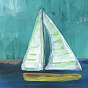 Set Free- Sailboat Painting Art Print