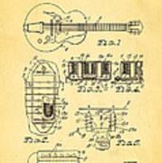 Seth Lover Gibson Humbucker Pickup Patent Art 1959 Art Print