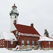 Seul Choix Point Lighthouse Art Print