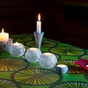 Seven Candles Art Print