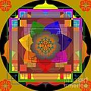 Seven Rays Of Healing 2013 Art Print
