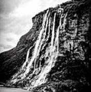 Seven Sisters Waterfall Art Print