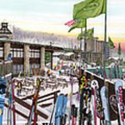 Seven Springs Mountain Resort Art Print