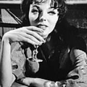 Seven Thieves, Joan Collins, 1960 Art Print