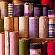 Sewing - Fabric  Art Print