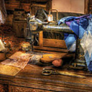 Sewing Machine  - Sewing Machine IIi Art Print