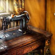 Sewing Machine  - The Sewing Machine  Art Print