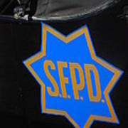 Sfpd Emblem Art Print by T C Brown