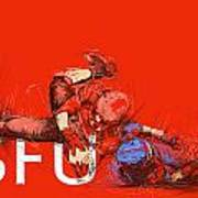 Sfu Art Art Print by Catf