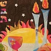 Shabbot Art Print by Diane Miller