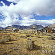 Shacks On 395 Art Print