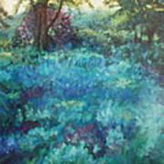Shade Garden Art Print