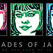 Shades Of Jade Poster Art Print
