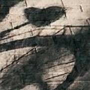 Shadow Heart Chalk 1 Hp Art Print