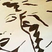 Shadow Monroe Art Print