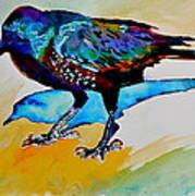 Shadowland Visitor Art Print