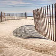 Shadows In The Sand II Art Print