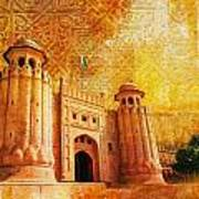 Shahi Qilla Or Royal Fort Art Print