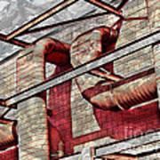 Shai-hulud Caged Print by MJ Olsen