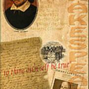 Shakespeare 2 Art Print