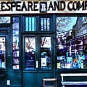 Shakespeare And Company Paris France Art Print