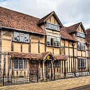 Shakespeare's Birthplace Art Print