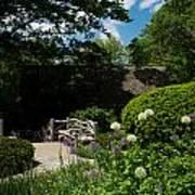 Shakespeares Garden Central Park Art Print