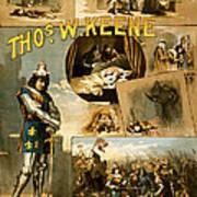 Shakespeare's Richard IIi 1884 Art Print