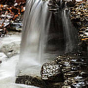 Shale Creek Waterfall Art Print