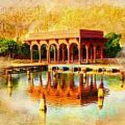 Shalimar Gardens Print by Catf