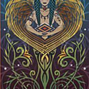 Shaman Art Print by Cristina McAllister