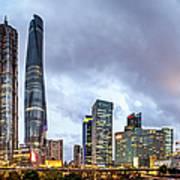 Shanghai Skyline By Junyyeung