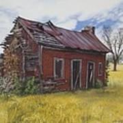 Sharecroppers Shack Art Print