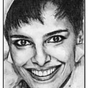 Shari Belafonte In 1985 Art Print