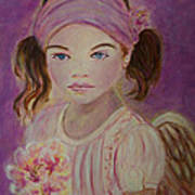 Sharissa Little Angel Of New Beginnings Art Print