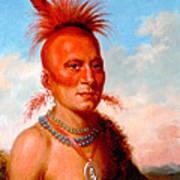 Sharitarish. Wicked Chief. Pawnee Art Print