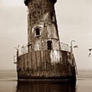 Sharps Island Lighthouse Art Print