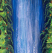 Shasta Falls Art Print