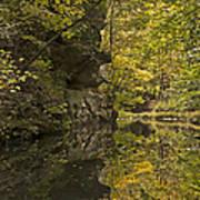 Shawnee Fall Reflection Art Print