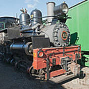 Shay Engine 12 In The Colorado Railroad Museum Art Print