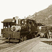 Shay No. 498 At The Summit Of Mt. Tamalpais Marin Co California Circa 1902 Art Print
