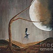 She Feels Memories By Shawna Erback Art Print by Shawna Erback