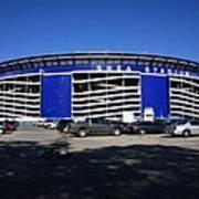 Shea Stadium - New York Mets Art Print by Frank Romeo