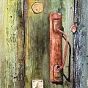 Shed Door Art Print