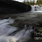 Sheep River Falls Alberta Canada 1 Art Print