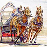 Sheer Horsepower Art Print