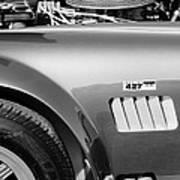 Shelby Cobra 427 Engine Art Print