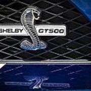 Shelby Gt 500 Art Print