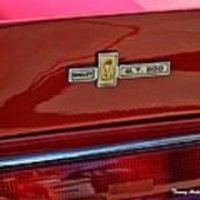 Shelby Gt 500 Mustang 4 Art Print