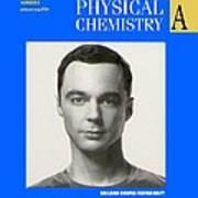 Sheldon Cooper Magazine Cover Art Print